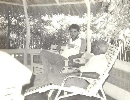 Jose Tejeda Franjul y Don Carlos Castillo